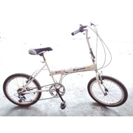 【二手】【限店取】 20吋 EP Enperur 6段變速 折疊車 兒童自行車 童車 兒童腳踏車 大人車