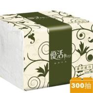 🌟Livi 優活🌟單抽式柔拭紙巾 衛生紙 300抽/包 隨機出貨