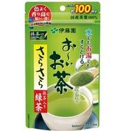 伊藤園現貨 日本伊藤園無糖抹茶粉 綠茶粉 無糖綠茶粉 (80g/約100杯)