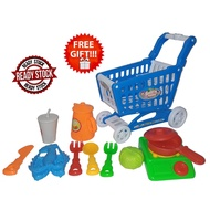 Trolley Kitchen Cooking Set Pretend Play