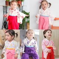 連身衣 日式 和服 造型服 女寶寶 爬服 哈衣 扮演服 派對 Augelute Baby 37301(好窩生活節)