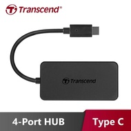 【Transcend 創見】TS-HUB2C USB 3.1 TYPE C 4-Port 集線器