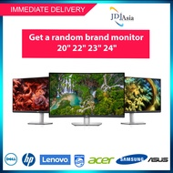 """IMMEDIATE DELIVERY [Refurbished] 20"""" 22"""" 23"""" 24"""" Inch Dell HP Lenovo Acer Samsung Philips Asus TFT LCD LED Monitor"""