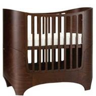 *babygo*丹麥 Leander 嬰兒成長床 【胡桃木色】-內含床墊+成長套件