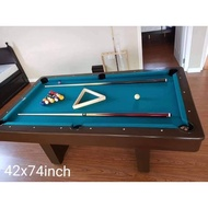 42x74 inches Billiard table for adults and teens sports / great hobby toy for boys and girls adult