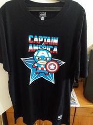 好市多台灣製漫威T恤美國隊長 星際特攻隊 鋼鐵人聯盟