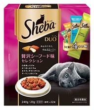 MARS japan  Sheba Sheba Duo 嚴選 豪華海鮮味貓糧