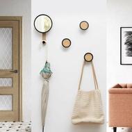 玄關掛鉤壁掛衣帽鉤墻上衣服掛衣架創意墻壁衣帽架墻面裝飾置物架