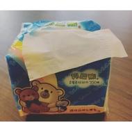 邦尼熊單抽式柔拭紙巾(300抽x72包/箱)免運739