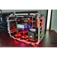 Large steel tube case 8700k/2080 diy assembly computer air-cooled host computer vr gaming computer