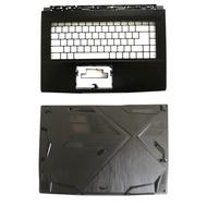NEW LCD Back Cover /Front Bezel/Hinges/Palmrest/Bottom Case For MSI GF63 8RC 8RD GF63VR MS-16R1 Black Top Case