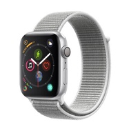 Apple Watch Series 4 GPS 44mm, Silver Aluminum Case, Seashell Sport Loop
