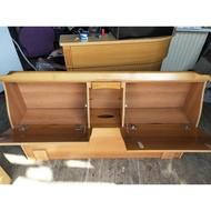 【土城二手市集】中古5尺床頭 雙人床頭櫃 淺色床頭櫃