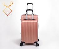 กระเป๋าเดินทาง กระเป๋าเดินทางล้อลาก กระเป๋าล้อลาก กระเป๋าใส่ของล้อลาก 20/24 นิ้ว วัสดุ ABS + PC แข็งแรง ทนทาน