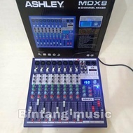 mixer audio ashley mdx8/mixer ashley mdx8