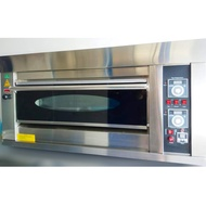 GAS & ELECTRIC DECK OVEN 1 deck 2 trays