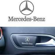 1pcs Car Accessories Car Interior Decoration Sticker Car Body Decal for Mercedes Benz AMG A B R G Class GLK GLA C200 E200 Car Accessories