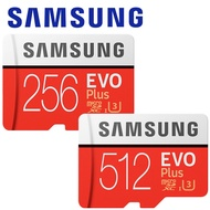 SAMSUNG 三星 512GB 256GB EVO Plus microSDXC TF 記憶卡 512G 256G
