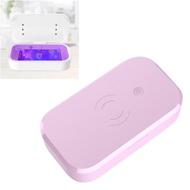 อเนกประสงค์โทรศัพท์Disinfectorไร้สายชาร์จโทรศัพท์UV Sterilizerกล่องสำหรับโทรศัพท์นาฬิกาMask KEY (สีสุ่ม)