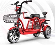 MZ 3 Seater Electric Bike Scooter with 3 wheels