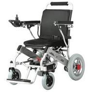 吉芮電動輪椅車超輕折疊輕便殘疾人代步車鋰電池老人電動輪椅