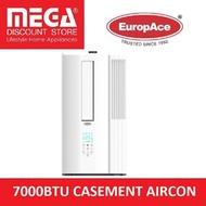 EUROPACE EAC701W 7000BTU CASEMENT AIRCON  / LOCAL WARRANTY