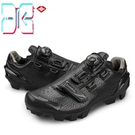 (Quality improvement)SANTIC MTB Rotating ButtonShoes For Eggbeater Shimano SPD System