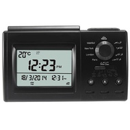 Digital Automatic Islamic Azan Muslim Prayer Alarm Adhan Table Clock Black