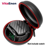 Carry Caseเข้ากันได้กับApple Watch Series 5 / Series 4 / Series 3 / Series 2 / Series 1 /44Mm/42Mm/40Mm/38Mm,กระเป๋าเดินทางหนักพร้อมแท่นวางชาร์จและCarabiner (ไม่รวมนาฬิกา)