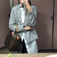 香奈兒 風格 h&m 毛呢外套