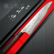 日本進口菜刀 越前打刃物 黑崎優 風神 VG10大馬士革槌目紫檀柄 牛刀