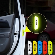 【Hot】Stickers Reflective Stickers Safety Warning Stickers Open Reflective Film