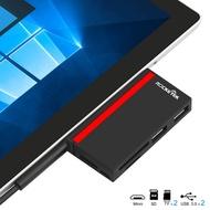 usb3.0高速讀卡器SD TF卡槽多合一Surface Pro3 4 5 6 7HUB擴展塢