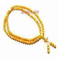 金絲硨磲白硨磲108顆佛珠 念珠手鏈 男女款