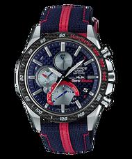 CASIO 卡西歐 EQB-1000TR-2A EDIFICE Scuderia Toro Rosso限量版 藍 46mm