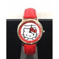 HELLO KITTY日本製手錶-紅色(#06484)