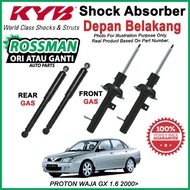 PROTON WAJA GX 1.6 2000> KYB / KAYABA ORIGINAL SHOCK ABSORBER SET