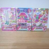 偶像學園 偶像活動 aurora fantasy bc卡 一套三張