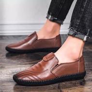 รองเท้าหนังผู้ชายเครื่องแบบเครื่องแบบรองเท้าเจ้าหน้าที่ทหาร Fashion leather shoes รองเท้าหนังชาย รองเท้าคัชชู ผช รองเท้าหนัง รองเท้าผู้ชายหนัง 💥MARIANS💥