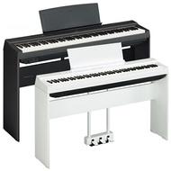 到府安裝 免運費 YAMAHA P125 電鋼琴 套組 贈 琴椅 金屬三音踏板 耳機 防塵套 黑/白