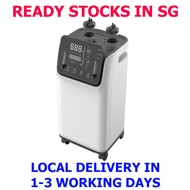 (READY LOCAL SG STOCKS) 10 LITERS - DUAL Medical Grade Oxygen Concentrator Oxygen Generator Machine 10L