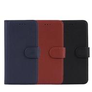 亞古奇 Samsung S8 Plus 柔軟羊紋二合一可分離式兩用皮套-藍棕黑