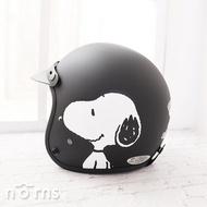 【Snoopy騎士3/4罩式安全帽】Norns 台灣製 史努比 正版授權 機車 摩托車 復古 頭盔
