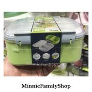 Double Layer Lunch Box กล่องอาหาร 2 ชั้น ขนาดพกพาสะดวก คุณภาพดี เก็บอาหารไม่เสีย และสีสวยน่ารักมาก — ห่ออาหาร กล่องใส่อาหาร กล่องถนอมอาหาร ปิ่นโต เบนโตะ กล่องข้าว กล่องอาหารญี่ปุ่น ข้าวกล่อง ชุดเบนโตะ Bento ซุปเปอร์แวร์ superware Tupperware  ทัพเพอร์แวร์