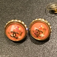 Chanel正品 針式耳環
