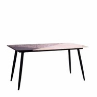 Craig Dining Table With Marble Top (Free Delivery)