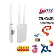 4G Lte Wifi Router IP66 Tahan Air Outdoor 4G Cpe Eksternal Antena Dual Wireless Cpe Router dengan Sim Modem