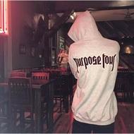 Purpose Tour演唱會限定 巡演帽T Justin Bieber