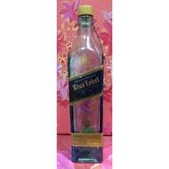 """還不錯滴♡♥~D484~Johnnie walker 約翰走路藍牌""""空酒瓶""""750ml~♥♡~"""
