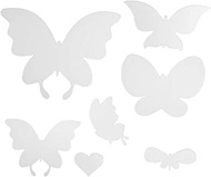 CLISPEED 1pcs Butterfly Mirror Wall Sticker Acrylic Crystal Mirror Sticker Mirror Wall Decal DIY Sticker for Home